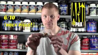 Alpha Nutrition -Animal Pak Review/Rating- Video 2