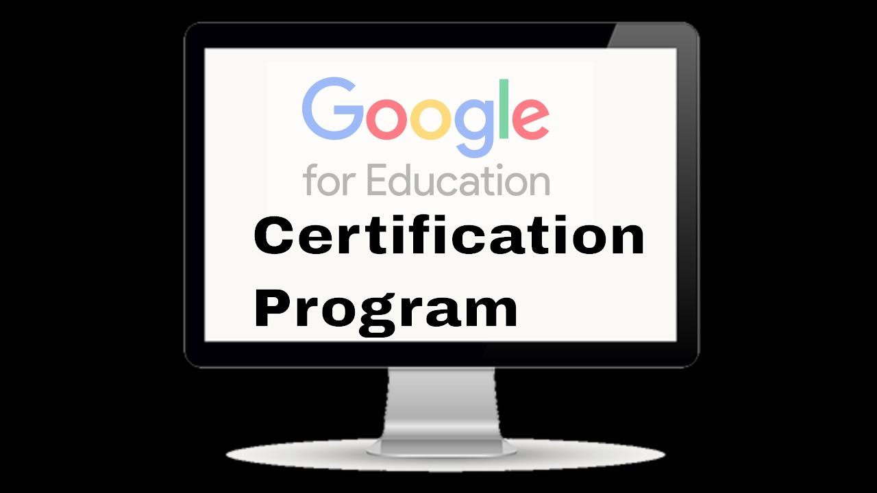 Google education certification program youtube google education certification program xflitez Images
