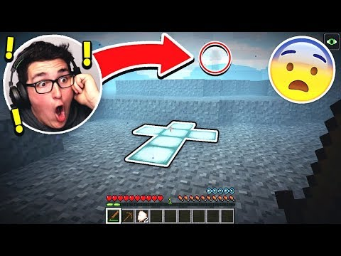 LOOK WHAT I FOUND AT THE BOTTOM OF THE MINECRAFT OCEAN!