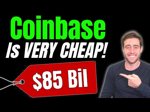 Coinbase Stock Is Falling! I'm Buying MORE COIN!