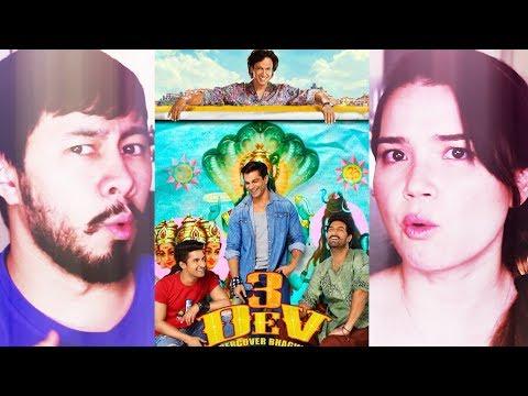 3 DEV | Karan Singh Grover | Kay Kay Menon | Kunaal Roy Kapur | Trailer Reaction!