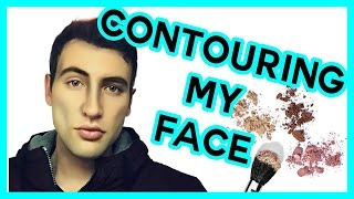 CONTOURING MY FACE