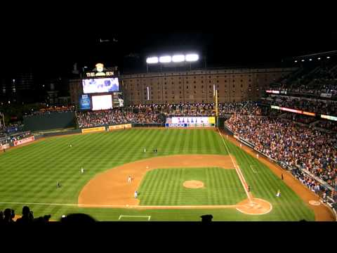 7th inning stretch - Oriole Park at Camden Yards