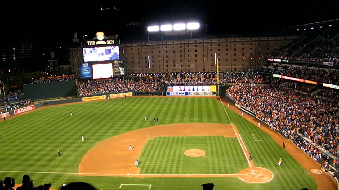 Image result for camden yards  you tube