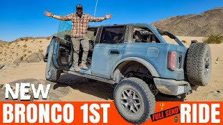 2021 Ford Bronco Off-roading in desert & ride along