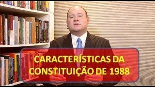 Características da Constituição de 1988