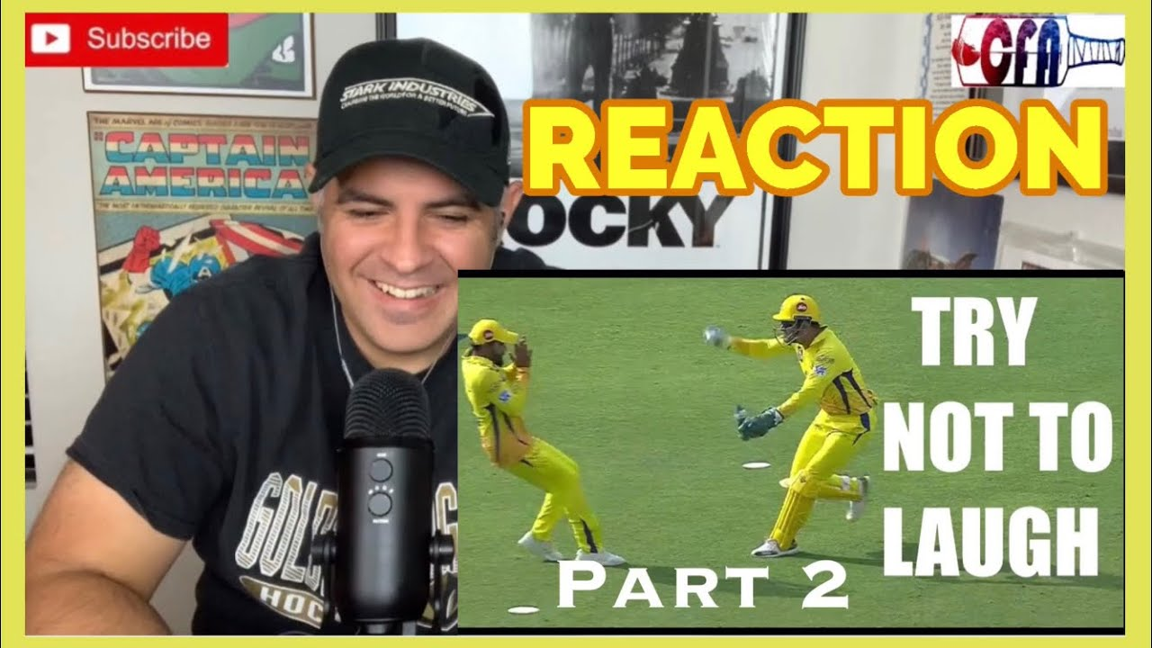 Funny Fielding Moments in Cricket -Part 2 | Cricket Reaction