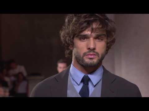 GIorgio Armani Men's SS20 fashion show