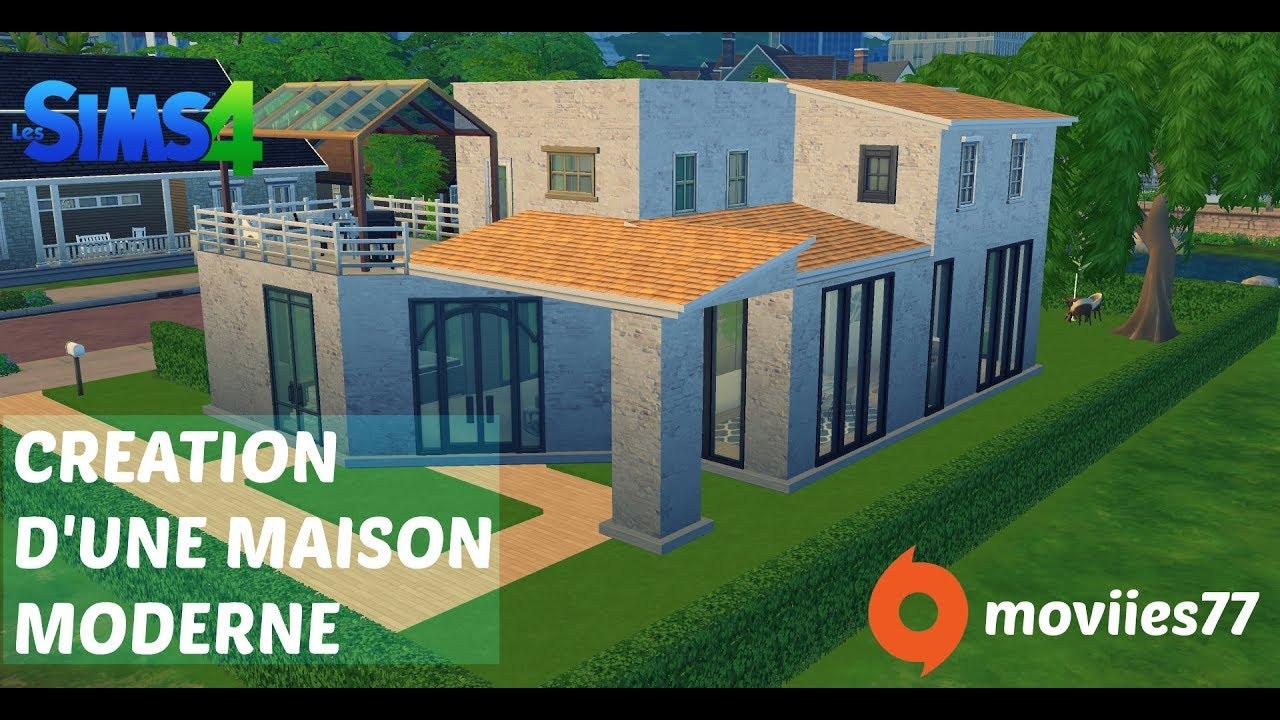 Creation Maison Moderne Sims 4 Youtube