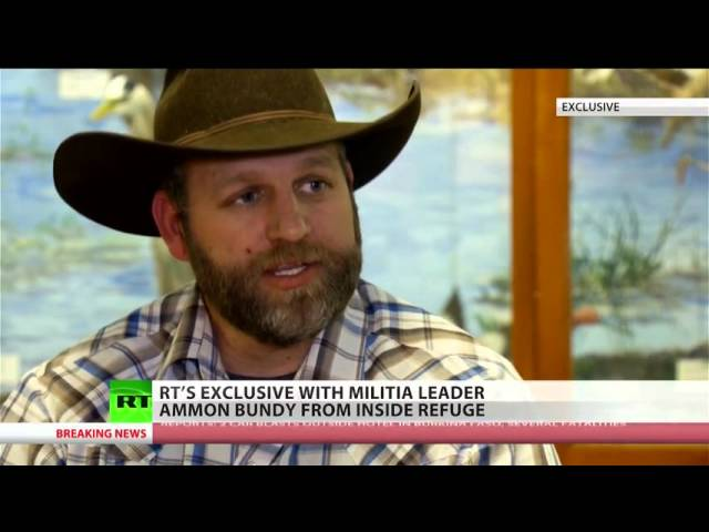 Militia leader Ammon Bundy's big goals from occupation