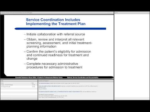 ESAS 2014: Referral, Service Coordination, and Documentation