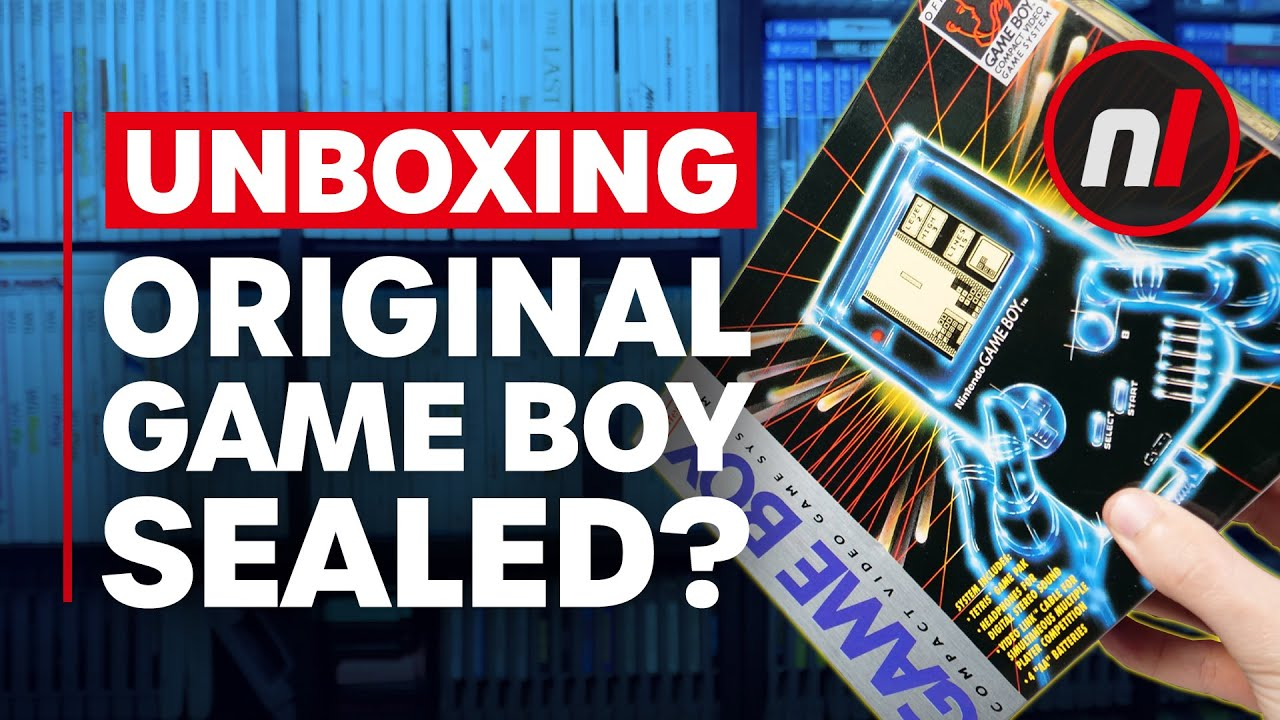 We Opened An Original Nintendo Game Boy From 1989!