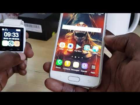 How To Pair U8 Smartwatch