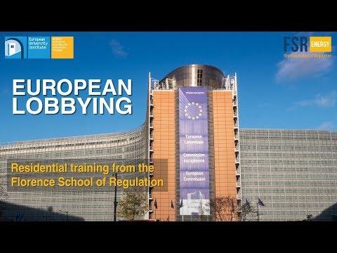 Training course on European Lobbying - Florence School of