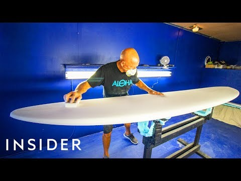 How Surfboards Are Made | The Making Of