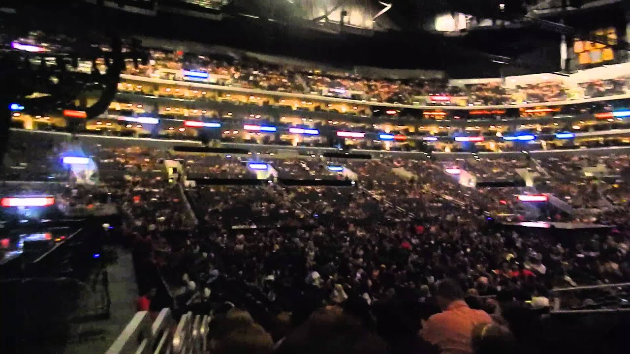 One Direction Concert At The Staples Center Youtube