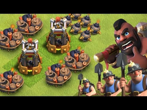 Clash Of Clans Update: BOMB TOWER vs MINER & HOGS