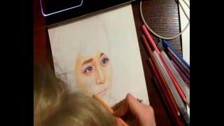 ( Watercolor Painting) Speed Drawing of Lee Soo Hyuk ( 이수혁 ) PART 1