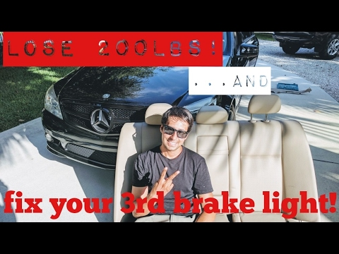 Remove your Mercedes-Benz Rear Seat and Fix your 3rd Brake light