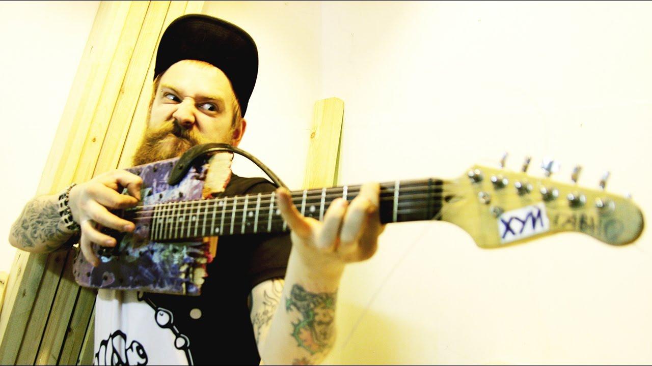 Всратокрастер — гитара из скейта своими руками.