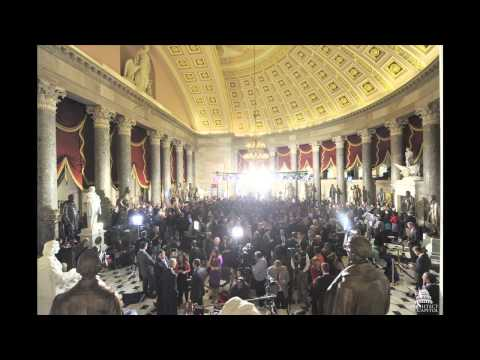 National Statuary Hall During the State of the Union - 2013