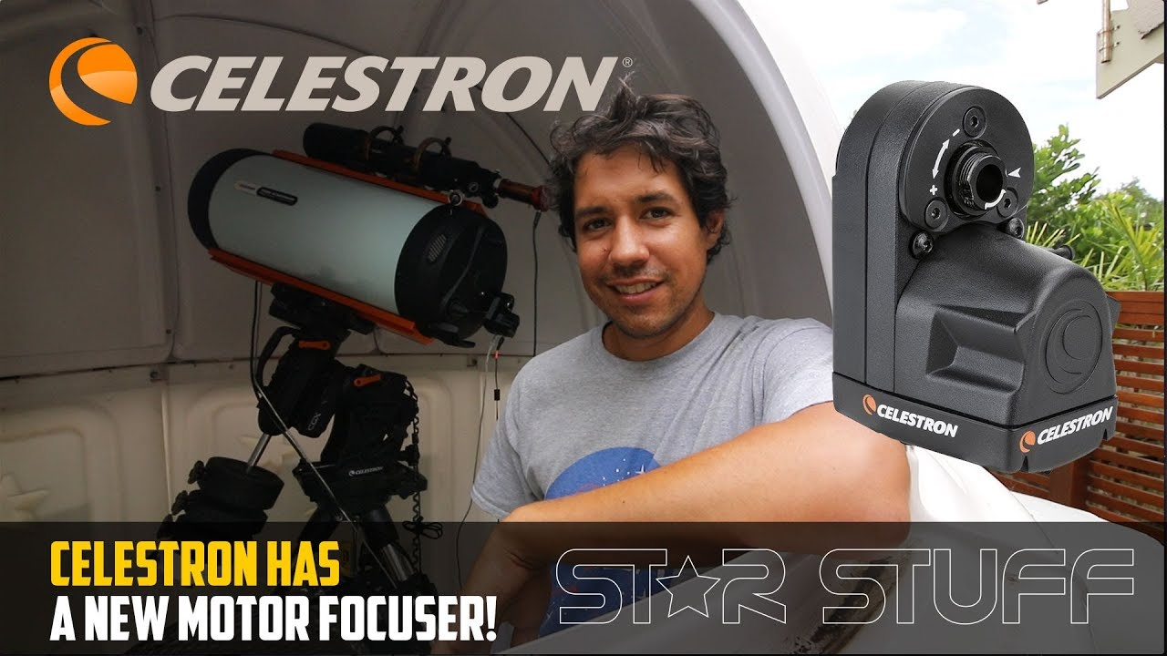 Official Celestron Focuser! A New Motorised Focuser for SCTs and RASA  Telescopes!