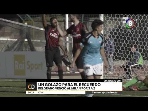 Belgrano Sub19 inolvidable triunfo ante el Milan de Italia