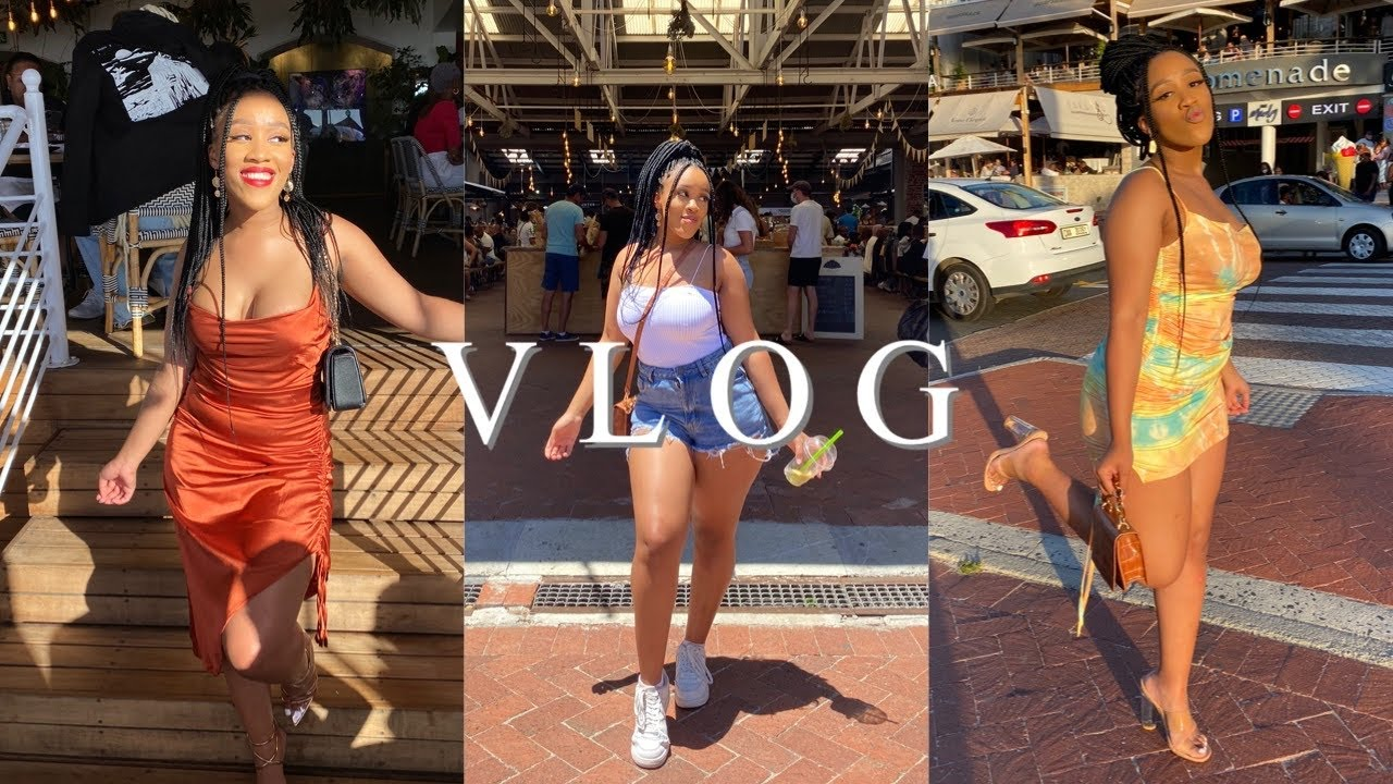 CAPE TOWN VLOG: City Girl Edition 🥂    South African YouTuber    Zennie Booi