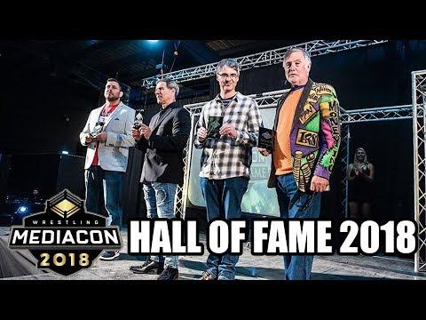 Wrestling Media Con Hall Of Fame 2018: Dave Meltzer, Colt Cabana, Finn Martin & Martin Goldsmith
