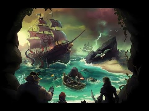 Sea of Thieves live, Breaking 100k Gold.
