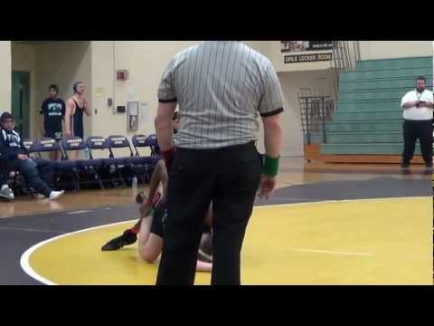 7th Wrestling Match (7th Grade 145 lbs) against Corporate Landing Middle School