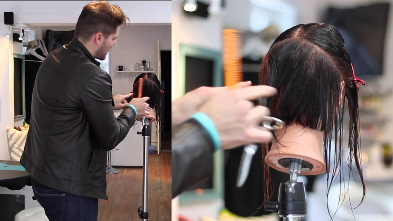 STEP 8  - 14 Steps to becoming a better haircutter - The importance of Taking consistent sections