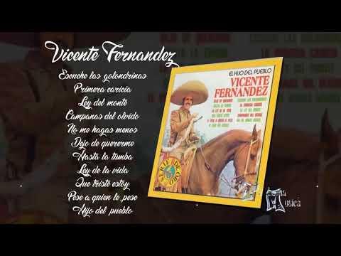 Escuche las golondrinas Vicente Fernandez Album completo