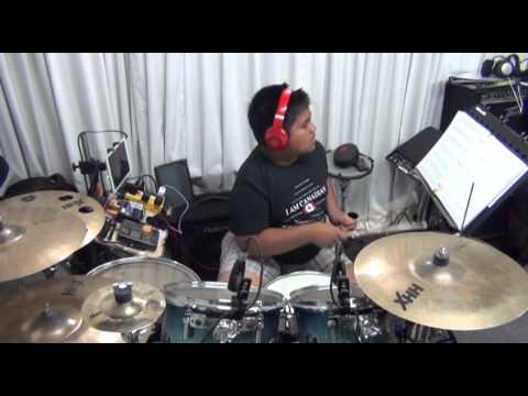 Hear Our Praises - drum play-along by Anjelo Gana