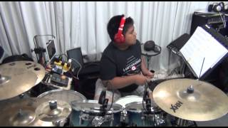 Hear Our Praises - drum play-along by Anjelo Gana