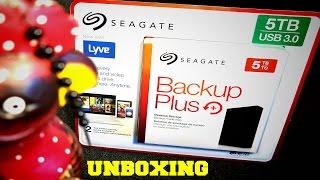 Seagate Backup Plus+ 5 TB Desktop Storage Unboxing Ruby Rock YouTube #14