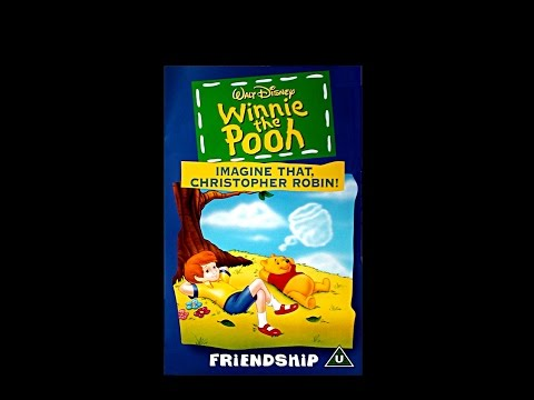 Digitized opening to Winnie the Pooh: Imagine That, Christopher Robin! (UK VHS)