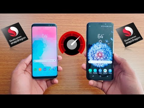 Samsung Galaxy S9 Vs Galaxy S8 Speed Test !!!