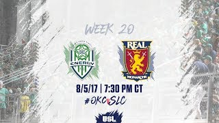USL LIVE - OKC Energy FC vs Real Monarchs SLC 8/5/17 thumbnail