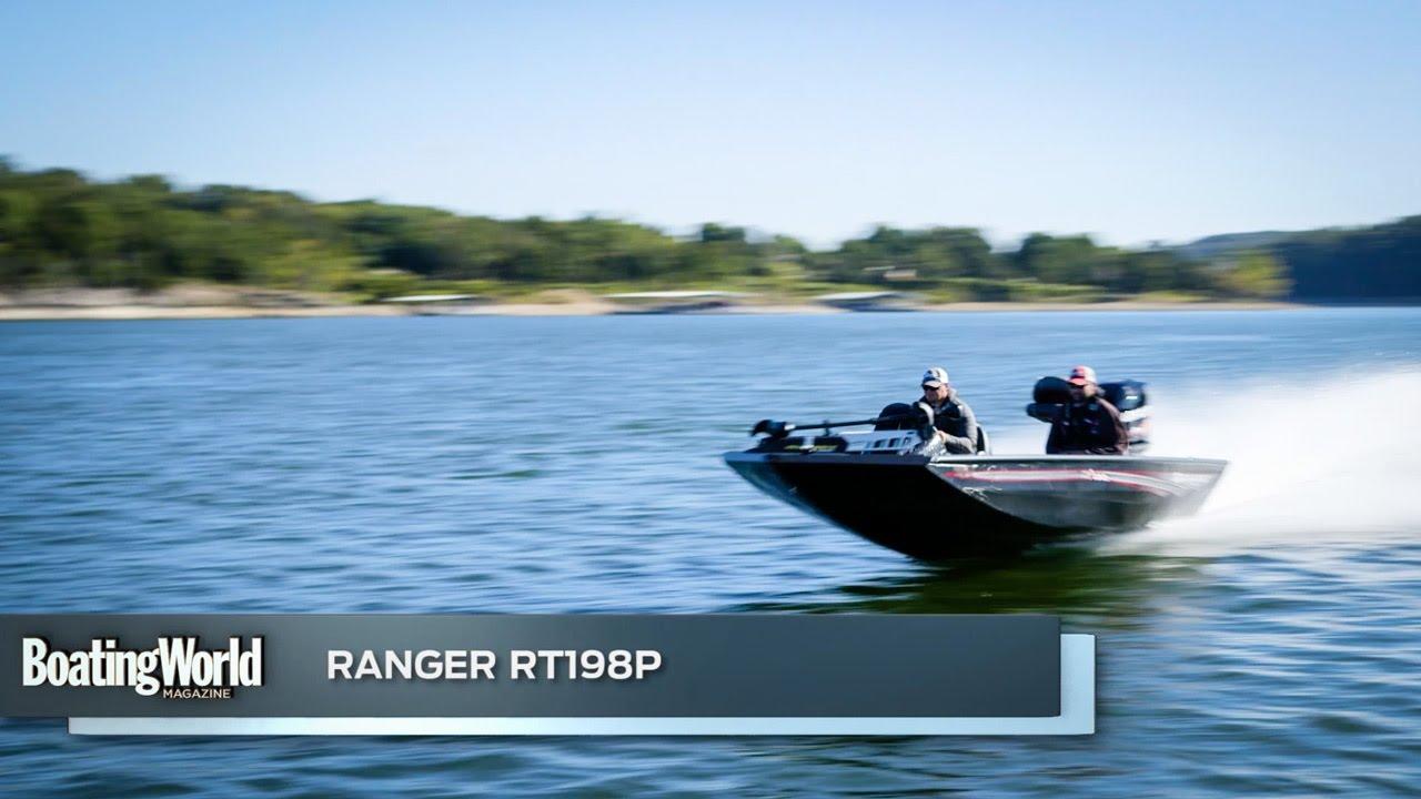 ranger rt198p � boat test youtube