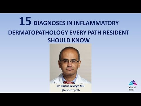 15 Diagnoses in Inflammatory Dermatopathology Every Path Resident Should Know