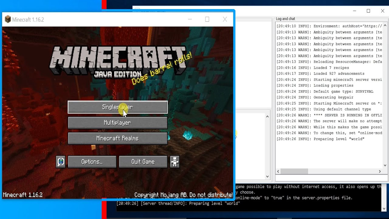 How to Setup Multi-player Minecraft Server on your Windows 11 PC