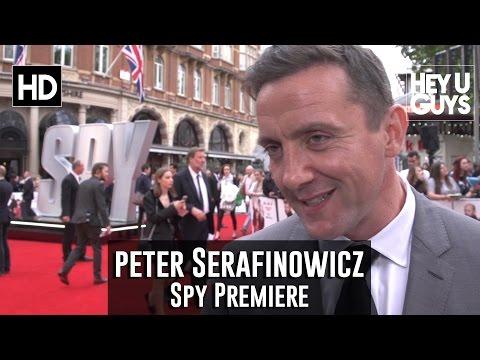 Peter Serafinowicz Interview - Spy Premiere