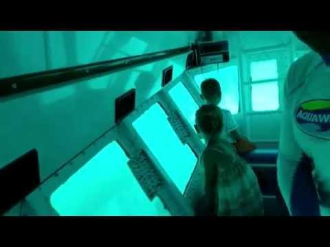 Submarine Advanture at Aquaworld Cancun, Mexico