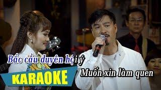 [KARAOKE] Hai Đứa Làm Quen - Quang Lập & Lâm Minh Thảo