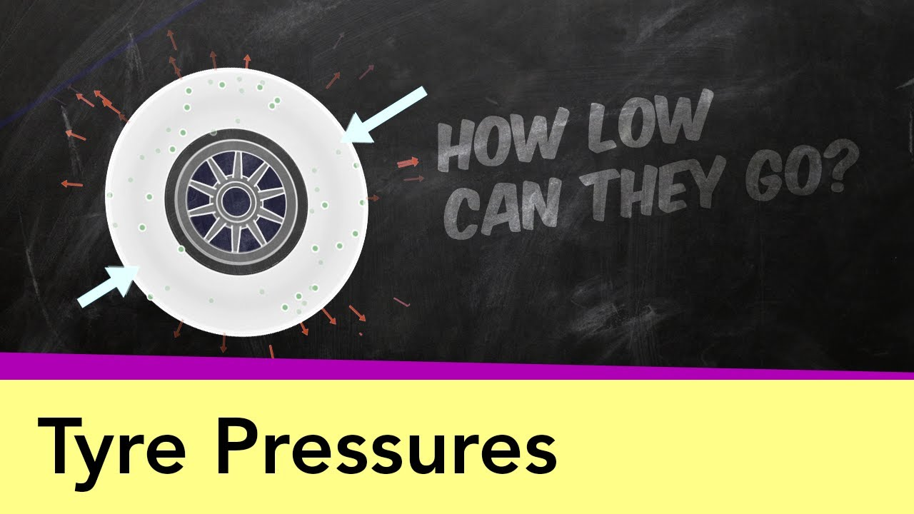 Tyre Pressures – Why F1 teams go low when Pirelli go high