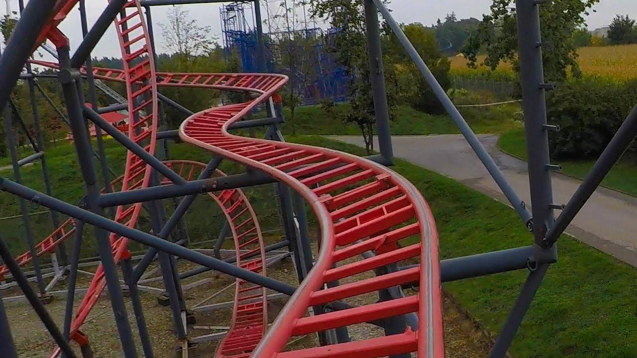 Do You Like Spinning Roller Coasters? Sky Spin POV at Skyline Park, Germany