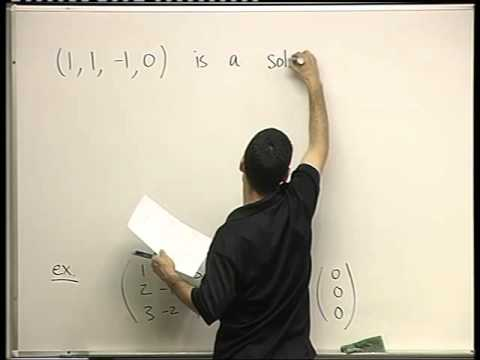 19 - Homogeneous vs.  non  homogeneous systems