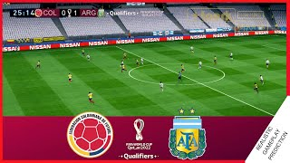 COLOMBIA vs ARGENTINA | RESUMEN, GOLES | Eliminatorias Sudamericanas 2021, QATAR 2022
