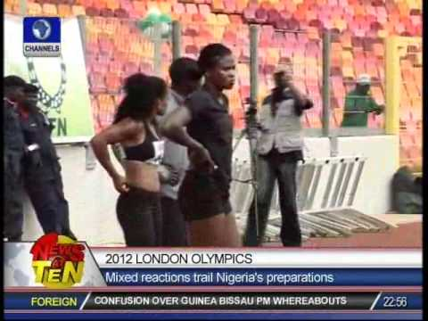 2012 London Olympics:Mixed reactions trail Nigeria's preparations